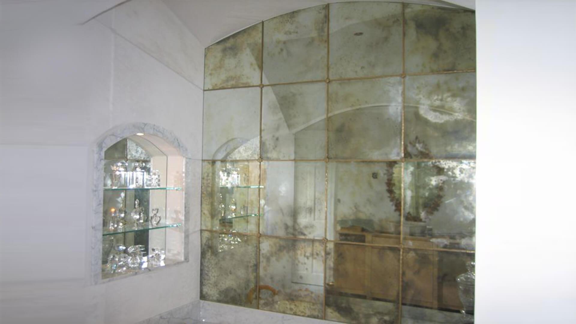 eskitme ayna - Ayna Camı Tamiri